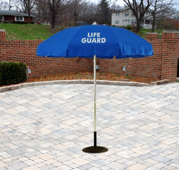 6 ft. Standard Style Pop-Up w/ White Lifeguard Logos