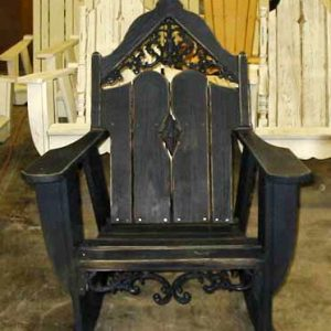 Veranda Pine Adirondack Rocking Chair