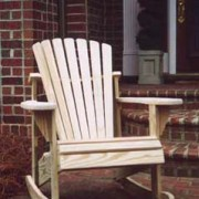 Weathercraft Adirondack Rocker