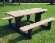 Walk Through Picnic Table