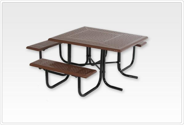 Wheelchair Accessible Square Picnic Table Walk Through Frame - Walk in picnic table