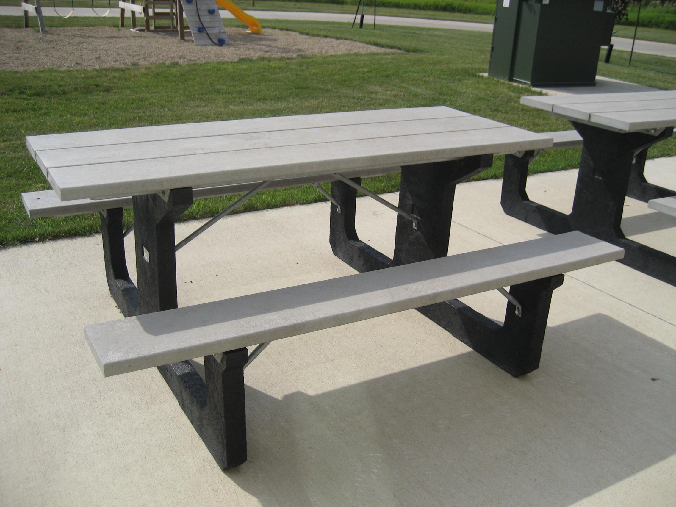 Walk Through Picnic Table - Walk in picnic table