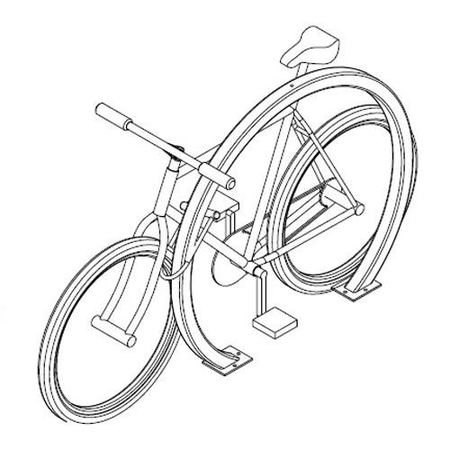 Arc Bike Rack Specs