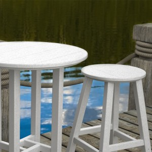POLYWOOD® Traditional Counter Height Stool