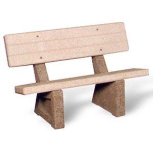 "48"" Heavy-Duty Concrete Bench"