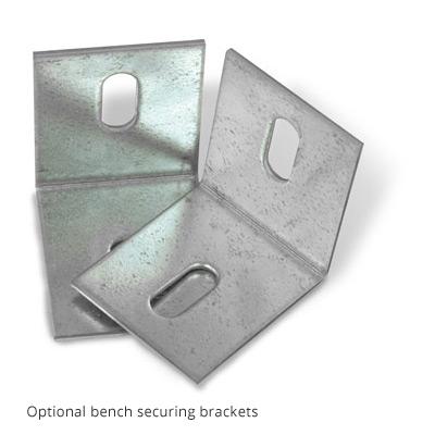 Optional Bench Brackets