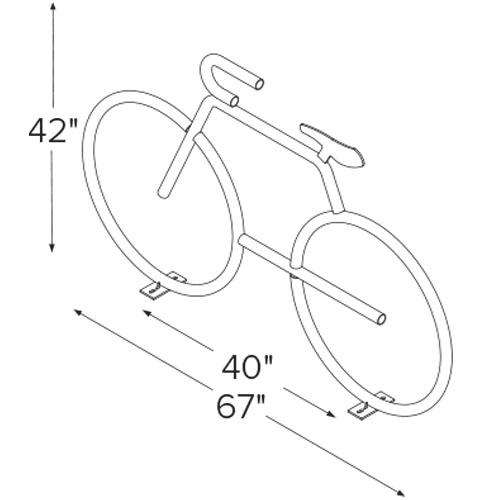 Bike Bike Rack Diagram