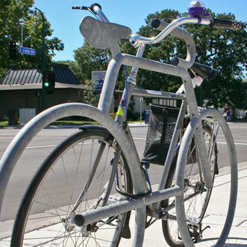 Bike Bike Rack Galvanized