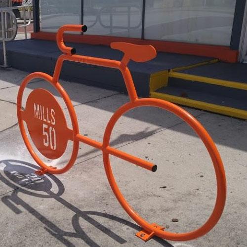 Bike Bike Rack with Logo