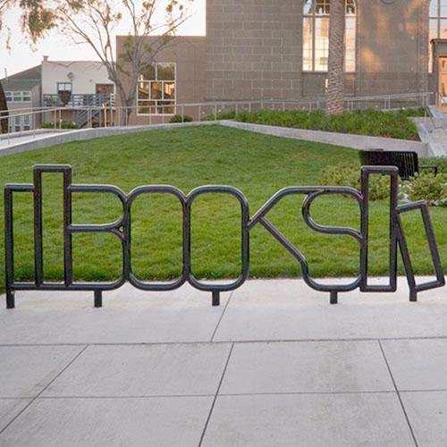 Books Bike Racks