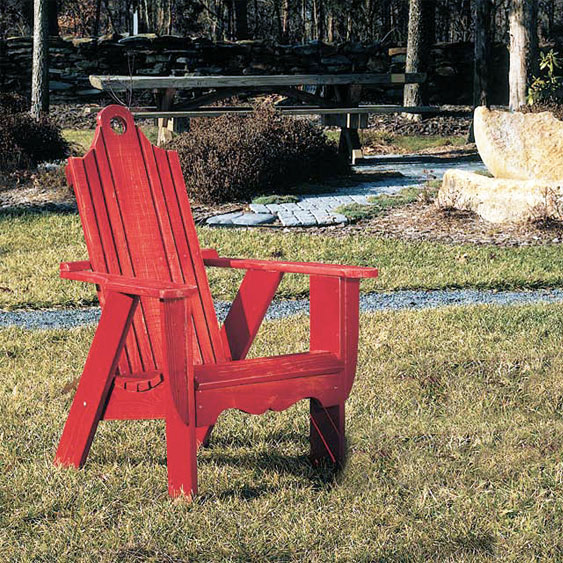 Bridgehampton Pine Adirondack Chair