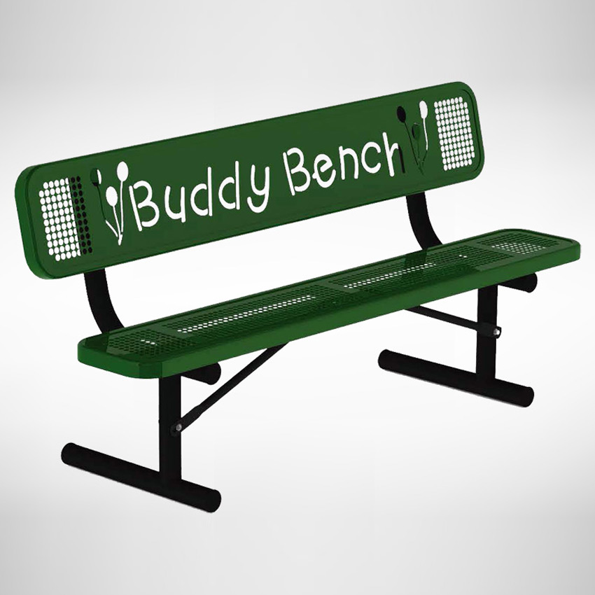 Buddy Bench Outdoor School Benches Playground Benches