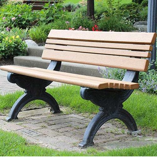 Cambridge Park Benches 4ft