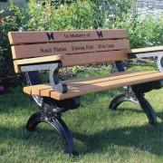 Cambridge Park Bench