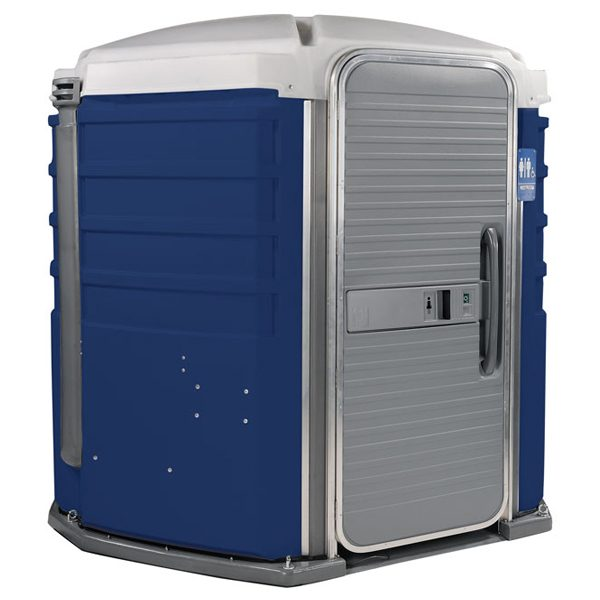 care iii portable toilet dark blue