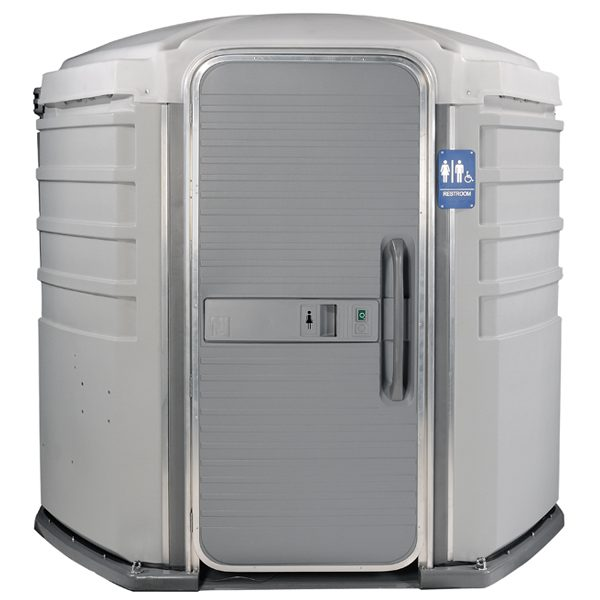 care iii portable toilet front