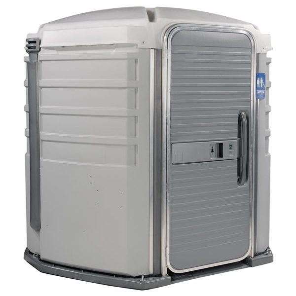 care iii portable toilet lite gray
