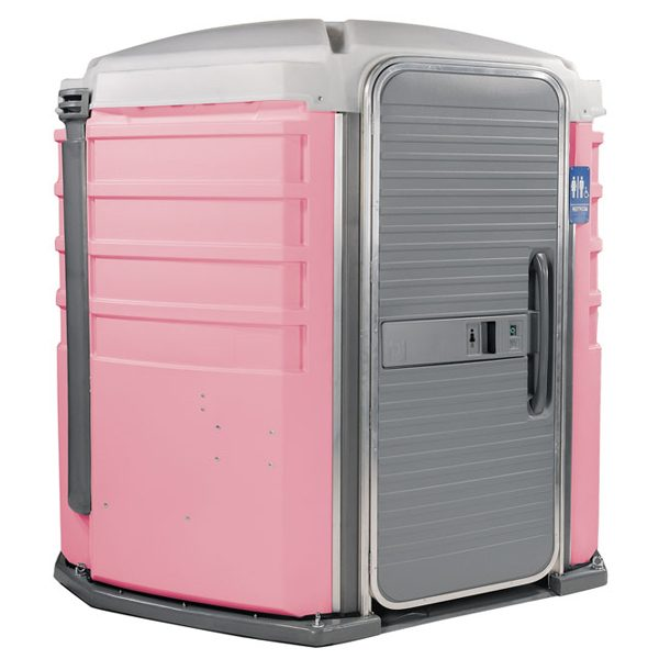 care iii portable toilet pink