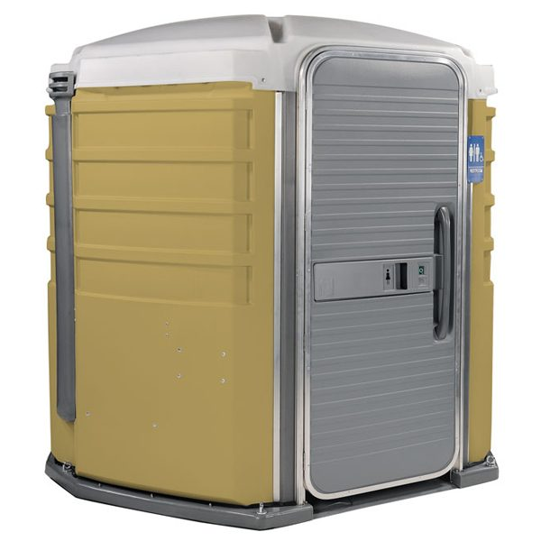 care iii portable toilet tan