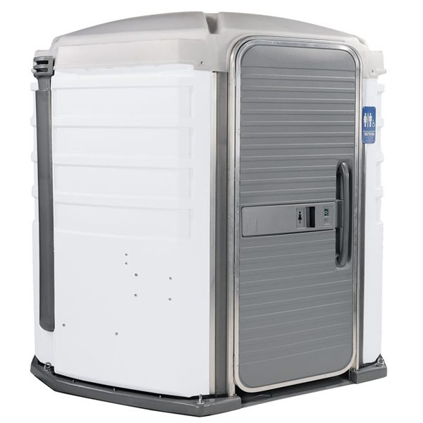 care iii portable toilet white