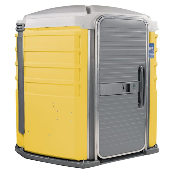 care iii portable toilet yellow