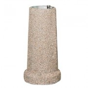 Upright Concrete Cylinder Fountain