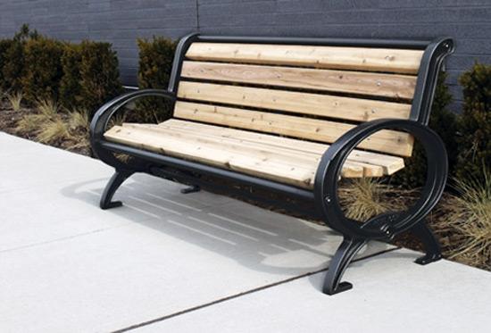 Classique Wood Bench