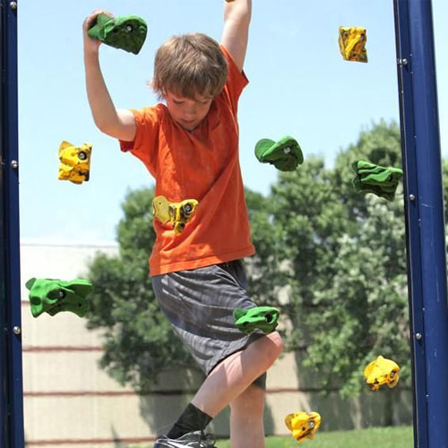 Clear Playground Climb Wall System Package