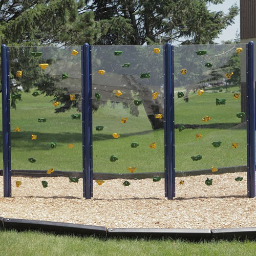 Clear Playground Wall Package Structure