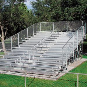 Code-Compliant Bleachers 14 Rows