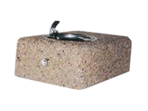 Wall Mounted Concrete Fountain