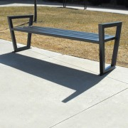 Decora Backless Bench
