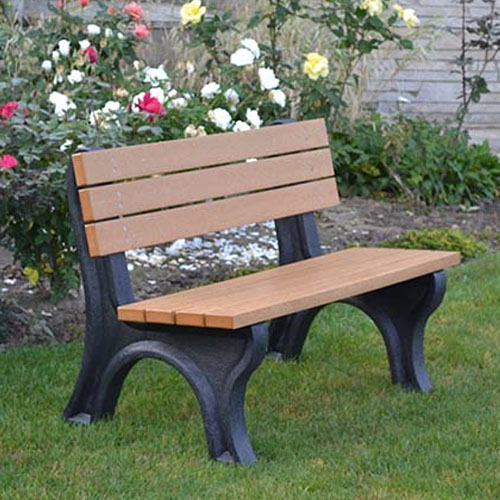 Deluxe Park Benches 4ft