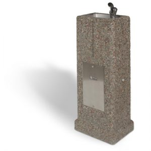 DF-38 - Upright Concrete Drinking Fountain