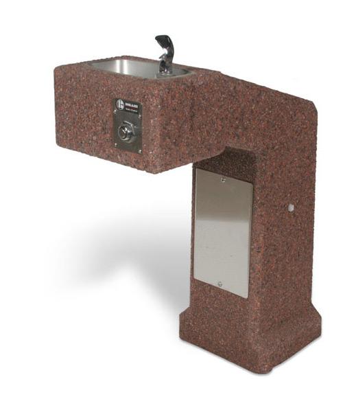 DFBF-36 - ADA Accessible Concrete Drinking Fountain