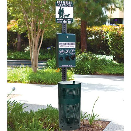 Sentry Dog Waste Station