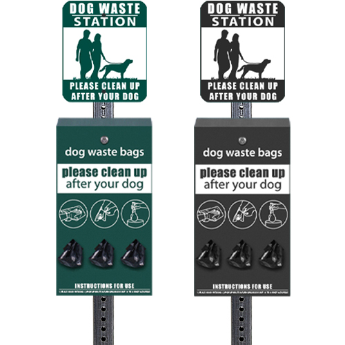 dog waste stations roll bags