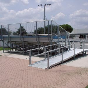 Elevated Bleachers Ramp