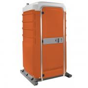 fleet portable toilet orange