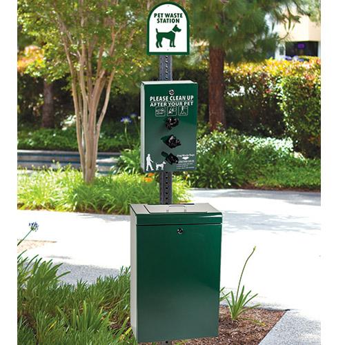 Gladiator Dog Waste Station