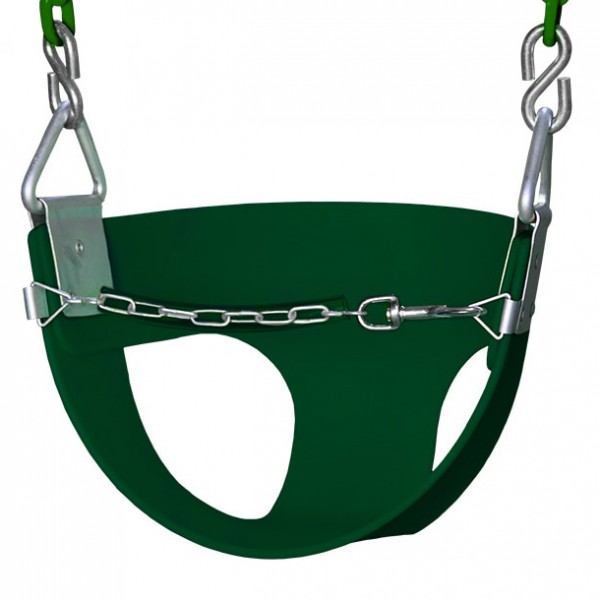 half bucket swing