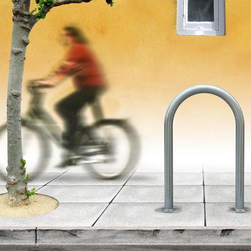 Heavy Duty Hoop Bike Rack