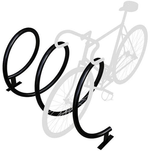 Helix Bike Rack powder coat