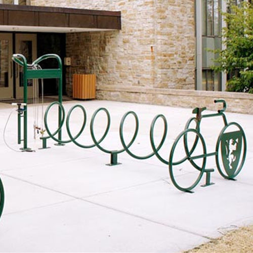 Helix Bike Rack Repair Stations