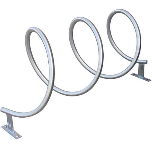 Helix Bike Rack stainless steel