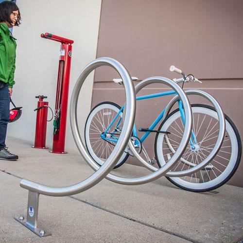 Helix Bike Rack System