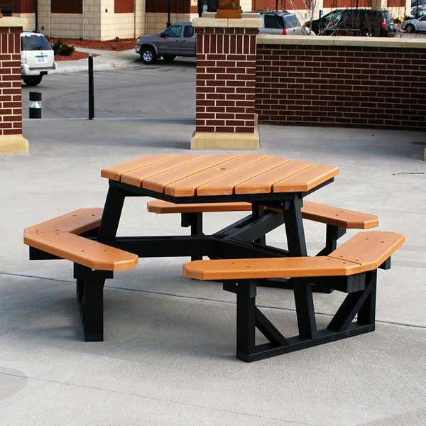 Hex Picnic Table