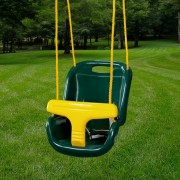 High Back Infant Swing green