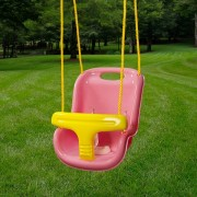 High Back Infant Swing pink