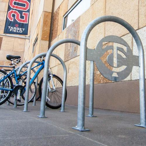 Hoop Bike Rack galvanized